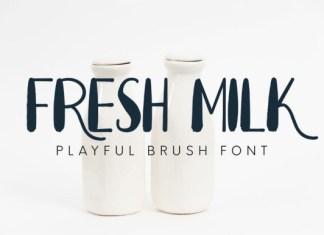 Fresh Milk Font