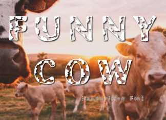 Funny Cow Font
