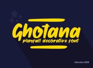 Ghotana Font