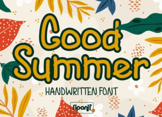 Good Summer Font