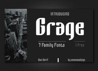 Grage Font