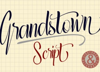 Grandstown Script Font
