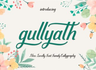 Gullyath Font