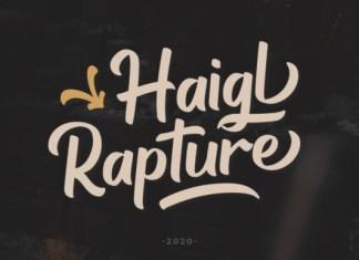 Haigl Rapture Font