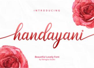 Handayani Font