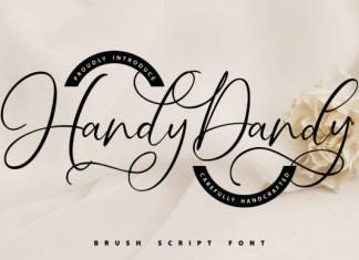 Handy-Dandy Font