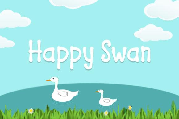 Happy Swan Font