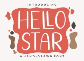 Hello Star Font