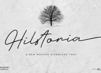 Hilstoria Font