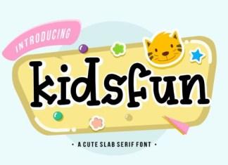Kidsfun Font