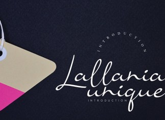 Lallania Unique Font
