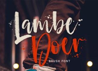 Lambe Doer Font
