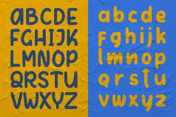 Letter Kids Font