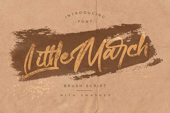 Littlemarch Font