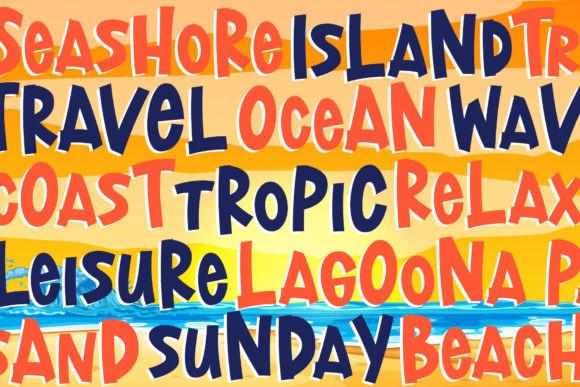 Lost Island Font