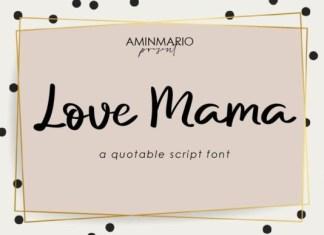Love Mama Font