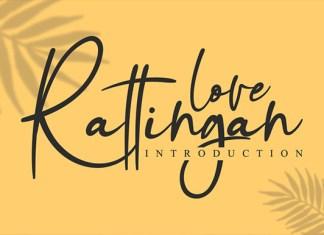 Love Rattingan Font