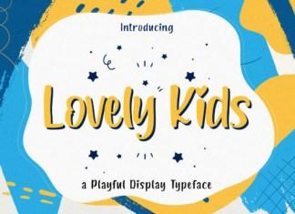 Lovely Kids Font