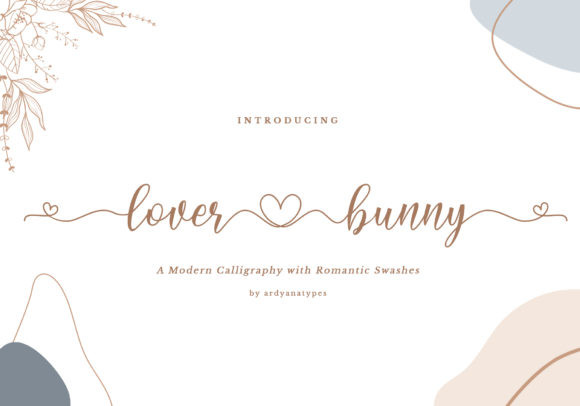 Lover Bunny Font