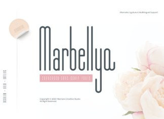 Marbellya Font