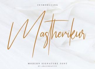 Mastherikur Font
