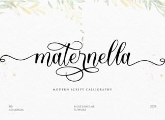 Maternella Font