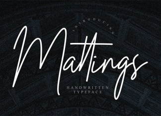 Matthings Font