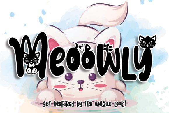 Meoowly Font