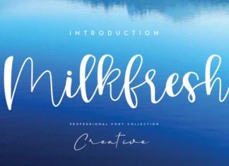 Milkfresh Font