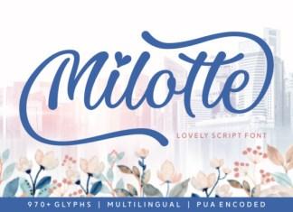 Milotte Font