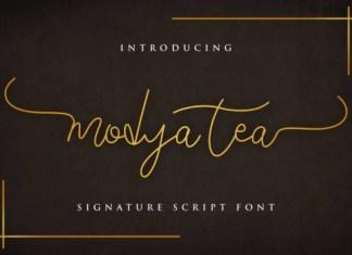 Modya Tea Font
