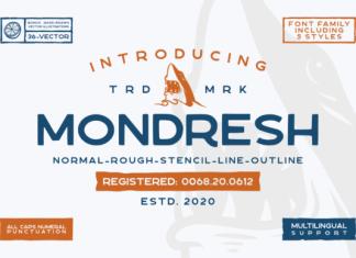 Mondresh Font