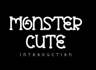 Monster Cute Font