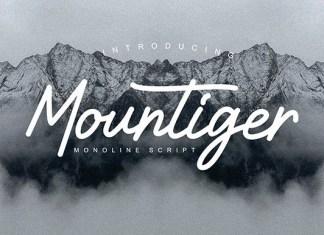 Mountiger Font