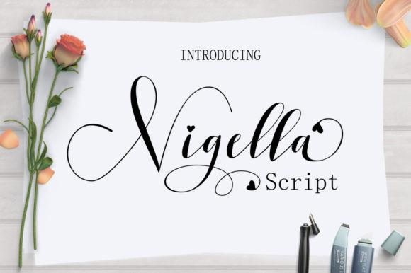 Nigella Font