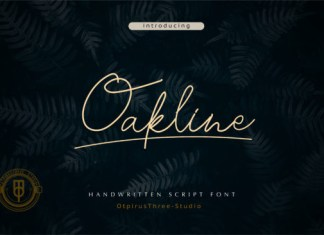 Oakline Font