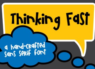 PN Thinking Fast Font
