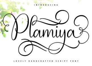 Plamiya Font