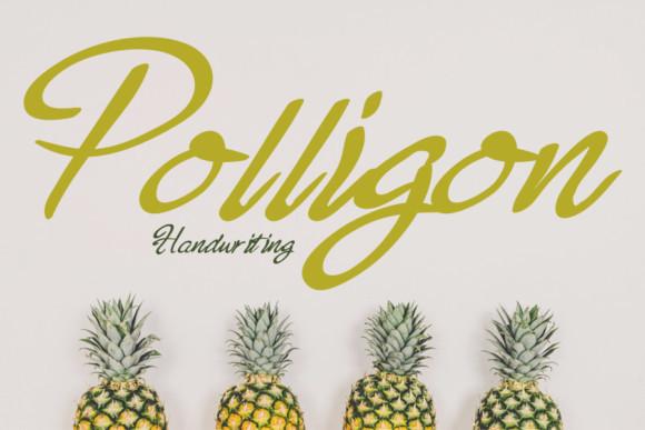 Polligon Font