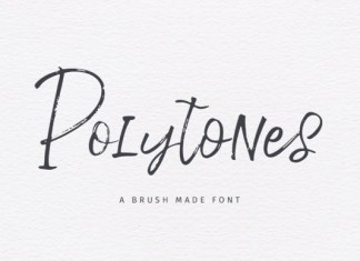 Polytones Font