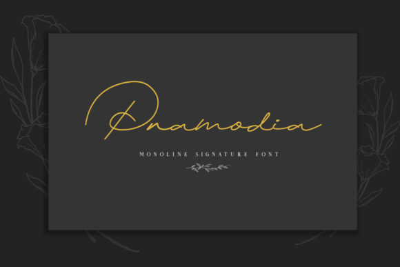 Pramodia Font