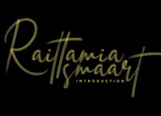 Raittamia Smaart Font