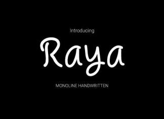 Raya Font