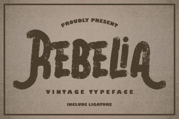 Rebelia Font