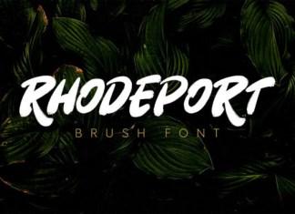 Rhodeport Font