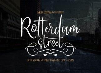 ROTTERDAM STREET FONT