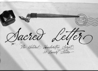Sacred Letter Font