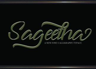 Sageetha Font