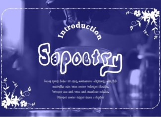Sapoetry Font