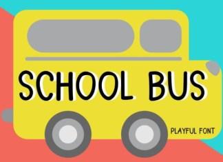 School Bus Font